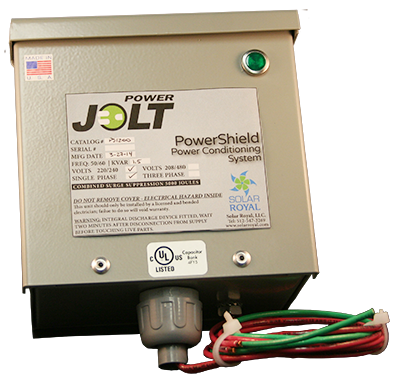 PowerJolt PowerShield Power Conditioning System (SINGLE PHASE/200AMP)